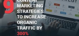 9 Content Marketing Strategies to Increase Organic Traffic by 300%