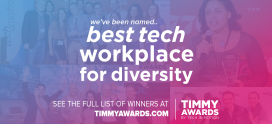 Digital Authority Partners Looks Beyond the Resume, Wins Timmy Award for Best Tech Workplace for Diversity
