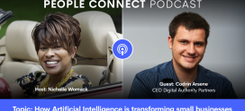 Codrin Arsene on People Connect Podcast: Artificial Intelligence & Small Businesses