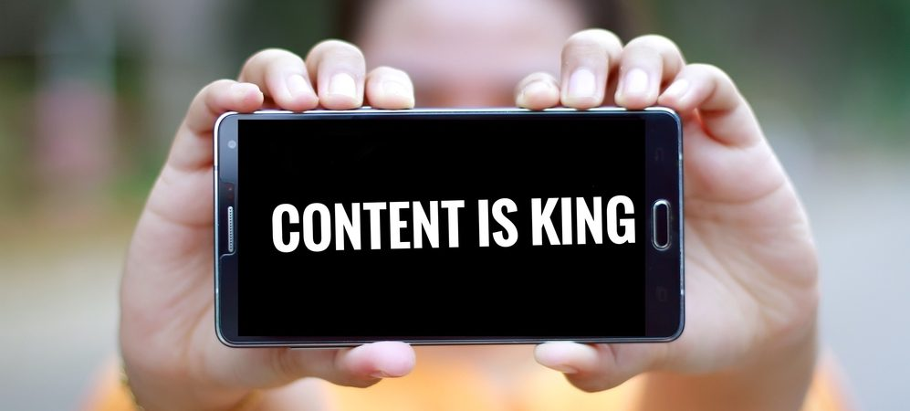 healthcare PR - create interesting content because content is king