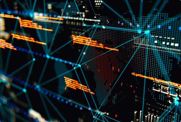 A data analytics dashboard