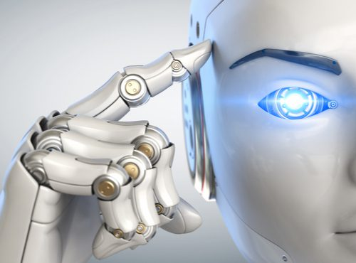 artificial intelligence robot thinking