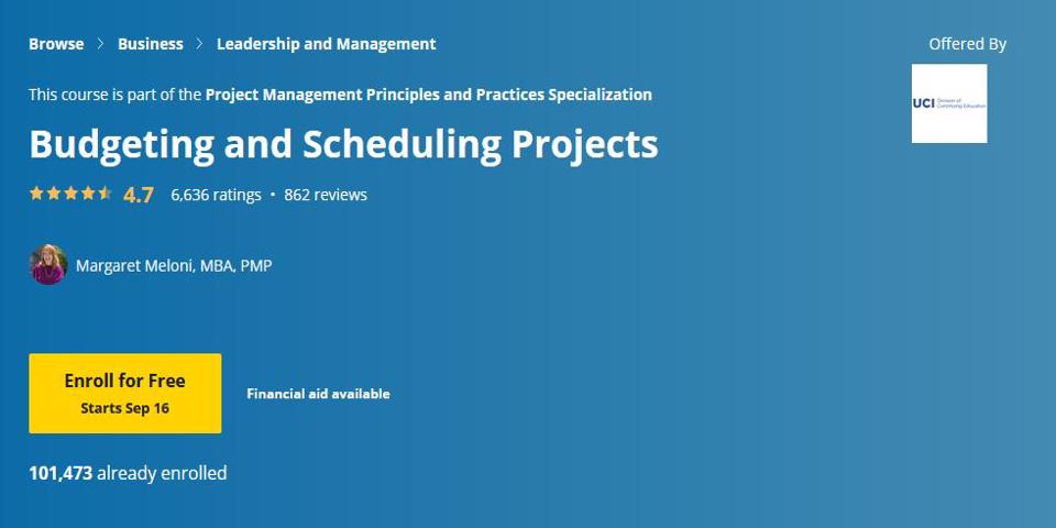 Budgeting and Scheduling Projects