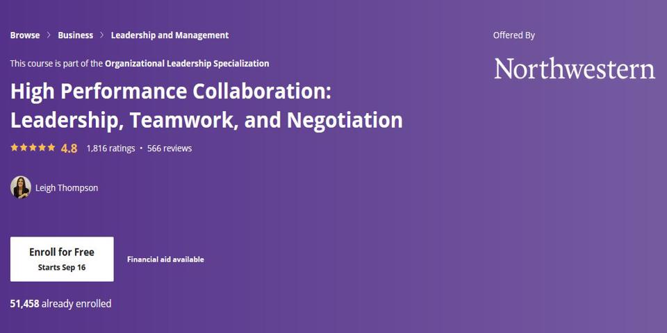 high performance collaboration