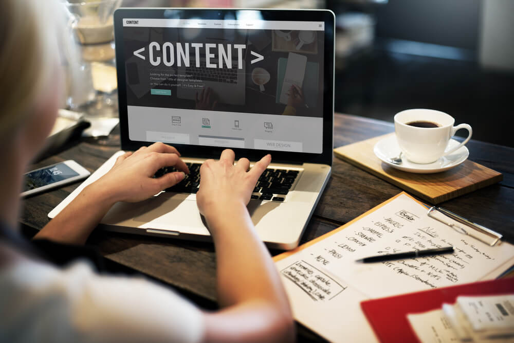 Content Data for banking